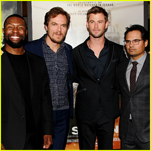 Michael Shannon, Trevante Rhodes, & More Join Chris Hemsworth at '12 Strong' Premiere
