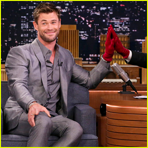 Chris Hemsworth Plays Jinx Challenge with Jimmy Fallon on 'Tonight Show' - Watch Here!
