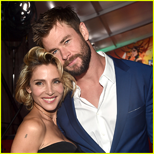 Chris Hemsworth's Son Shows Incredible Upper Body Strength While Scaling a Fridge! (Video)