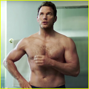 Chris Pratt Strips Shirtless, Shows His Abs for Super Bowl 2018 Commercial with Michelob Ultra!