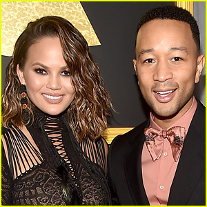 John Legend Helps Chrissy Teigen Put on Spandex Leggings Over Her Baby Bump