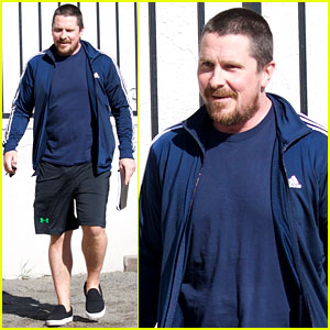 Christian Bale Puts Slimmer Figure on Display While Out in LA
