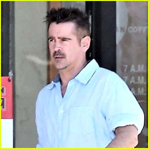 Colin Farrell Steps Out for Solo Lunch in Los Feliz