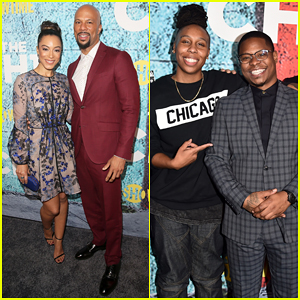 Common & Girlfriend Angela Rye Couple Up at 'The Chi' Premiere - Watch Trailer!