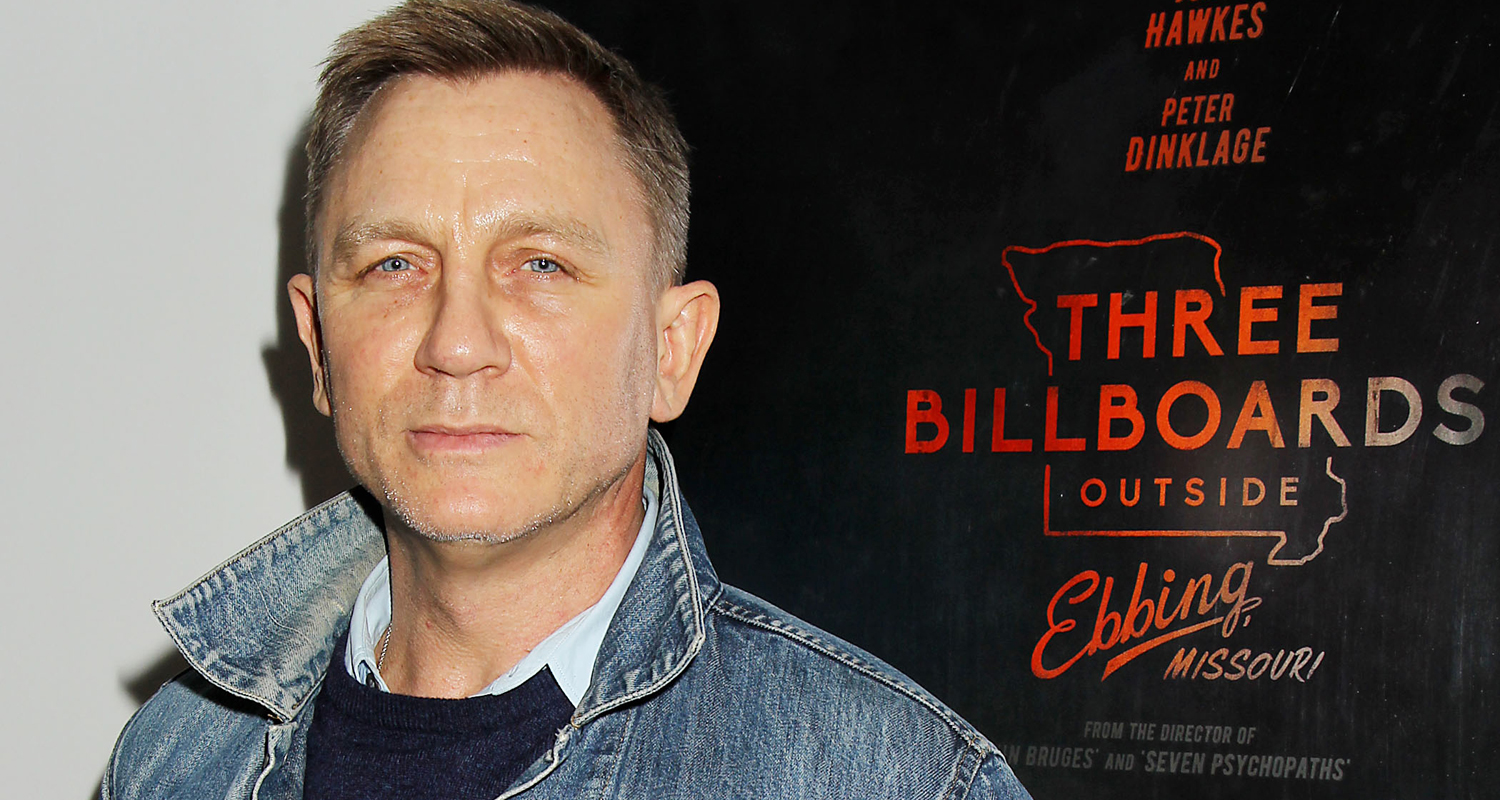 Daniel Craig Hosts Special NYC Screening of 'Three Billboards Outside Ebbing, Missouri'!