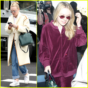 Dakota Fanning Gets Back to the NYU Grind After SAG Awards in LA