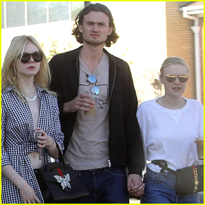 Dakota Fanning Grabs Lunch with Sister Elle & Boyfriend Henry Frye