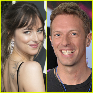 Dakota Johnson & Chris Martin Wrap Arms Around Each Other in New Beach Photos