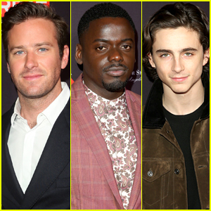 Daniel Kaluuya Joins Armie Hammer & Timothee Chalamet at BAFTA Tea Party