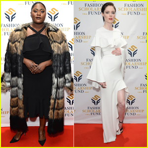 Danielle Brooks & Pregnant Coco Rocha Attend Fashion Scholarship Fund Dinner