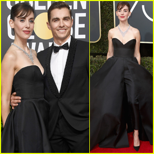 Dave Franco & Alison Brie Couple Up at Golden Globes 2018!