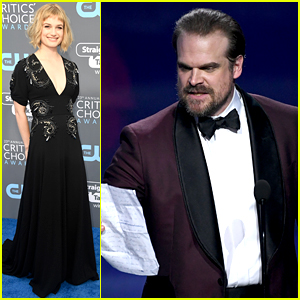 David Harbour Wins at Critics' Choice Awards 2018, Gets Girlfriend Alison Sudol's Support!