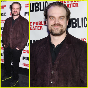 David Harbour Helps Kick Off The Public Theater's Under the Radar Festival 2018!