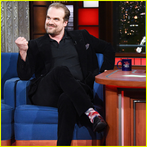 David Harbour Is Totally Owning Being the Definition of 'Dad Bod'