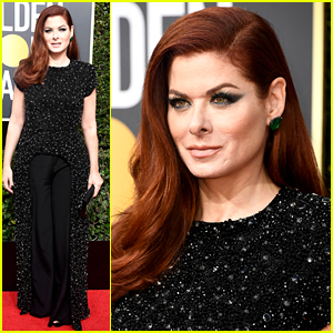 Debra Messing Calls Out E! on the Network's Golden Globes Red Carpet Show