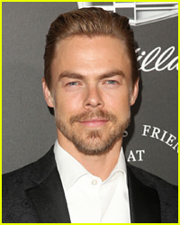 Derek Hough Put His Ripped Abs on Display