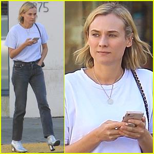 Diane Kruger Spends the Day Running Errands in Beverly Hills