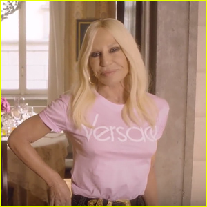 Donatella Versace Reveals the Most Common Misconceptions About Her in 'Vogue' 73 Questions Interview - Watch Now!