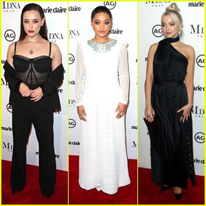 Katherine Langford & Dove Cameron Join Kiersey Clemons at Marie Claire's Image Makers Awards