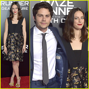 Dylan O'Brien Joins 'Maze Runner' Co-Stars for 'Death Cure' Fan Screening!