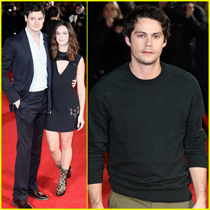 Dylan O'Brien & 'Maze Runner' Cast Walk Red Carpet at London Premiere!