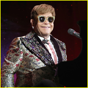Elton John Shines at Farewell Tour Announcement in NYC