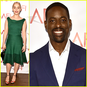 Emilia Clarke Meets the 'This Is Us' Cast at AFI Awards 2018!