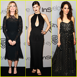 Emily VanCamp, Alexandra Daddario & Abigail Spencer Hit Up InStyle's Golden Globes After Party 2018!
