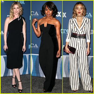 Emily VanCamp, Angela Bassett, Jamie Chung & More Step Out for Fox's Winter TCA All-Star Party!
