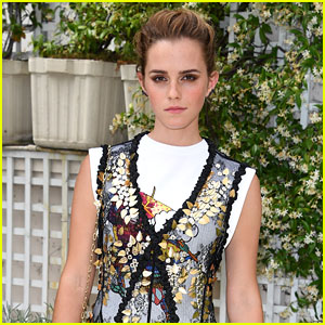 Emma Watson Rocks New Hairstyle With Bold Bangs