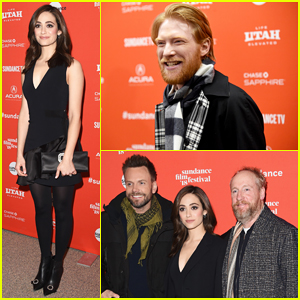 Emmy Rossum Premieres 'A Futile And Stupid Gesture' at 2018 Sundance Film Festival!