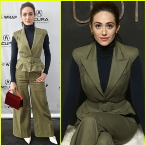 Emmy Rossum Spills on How Will Forte Kept Her Laughing on the 'A Futile and Stupid Gesture' Set