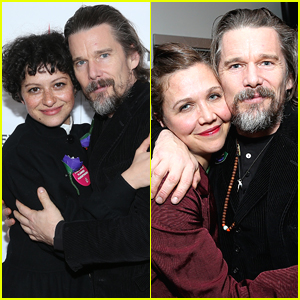 Ethan Hawke Celebrates New Movie 'Blaze' at Sundance 2018!
