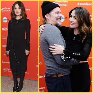 Ethan Hawke & Rose Byrne Premiere 'Juliet, Naked' at Sundance 2018