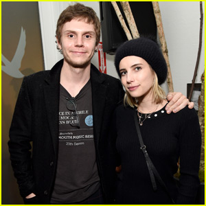 Emma Roberts Joins Evan Peters at His Sundance Premiere!