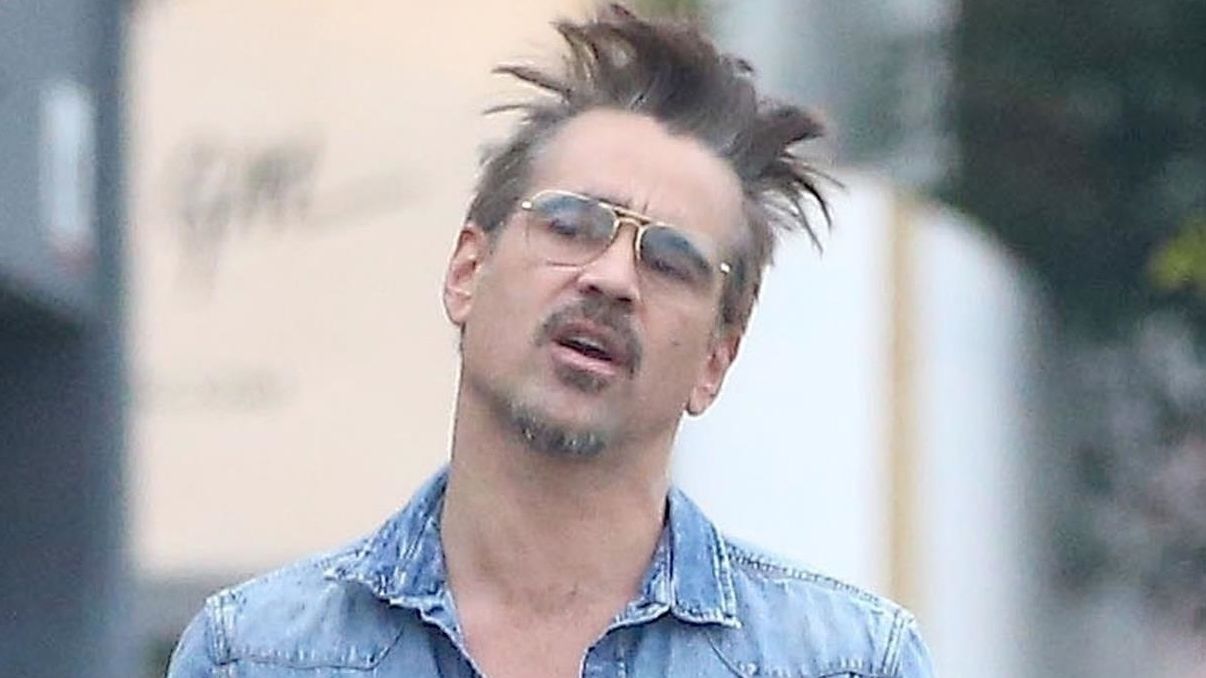 Colin Farrell Looks To...
