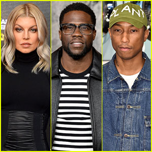 Fergie, Kevin Hart, & Pharrell Williams Team Up for NBA All-Star Game 2018
