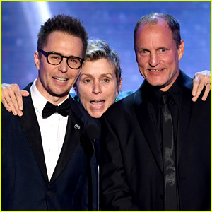 Frances McDormand & 'Three Billboards' Cast Win at SAG Awards 2018!
