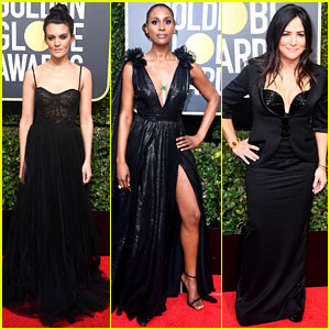 Frankie Shaw, Issa Rae, & Pamela Adlon Are Leading Ladies at Golden Globes 2018
