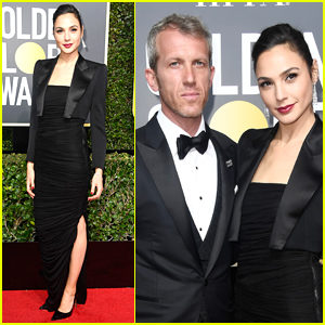 Gal Gadot is Joined by Husband Yaron Versano at Golden Globes 2018