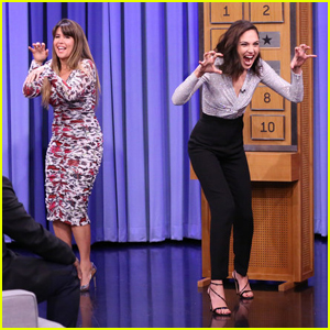 Gal Gadot & Patty Jenkins Battle It Out with Game of Charades on 'Tonight Show' - Watch Here!