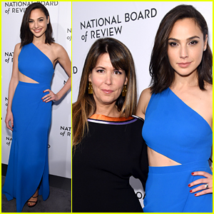 The Spotlight Is On Gal Gadot & Patty Jenkins at NBR Awards 2018!