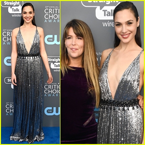 Gal Gadot Shines with Patty Jenkins at Critics' Choice Awards 2018