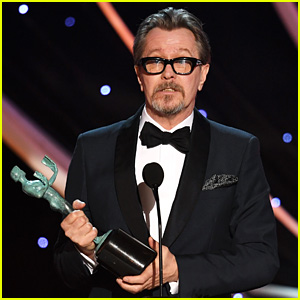 Gary Oldman Wins Best Actor in a Leading Role at SAG Awards 2018 - Watch Now!