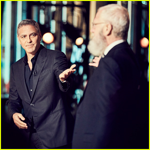 George Clooney Reveals He First Met Wife Amal Without Having to Leave his House on David Letterman's Netflix Talk Show!