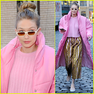 Gigi Hadid Brightens Up the Streets of New York City!