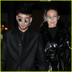 Gigi Hadid & Zayn Malik Channel 'The Matrix' During Birthday Celebration!
