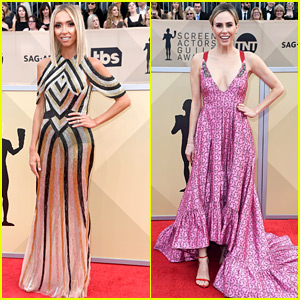 Giuliana Rancic & Other TV Hosts Kick Off SAG Awards 2018 Red Carpet!