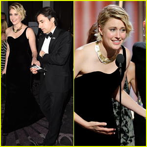 Greta Gerwig Forgot to Thank Boyfriend Noah Baumbach at Golden Globes: 'I Blanked'