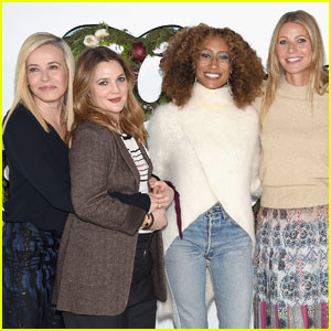 Gwyneth Paltrow Hosts In 'goop' Health Summit With Drew Barrymore & Friends!